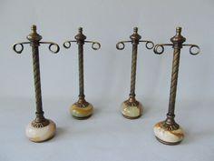 Set of 4 Vintage Onyx Retail Earring Display by HollyDeerDesigns