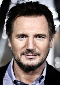 Liam Neeson ~ I love to watch his films!  He gets more handsome the older he gets.