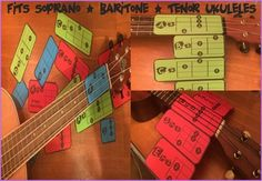 Are you learning UKULELE in your classroom? Struggling to teach students they chords using standard chord charts? Sick of messy stickers and methods that just don't work? Try these chord sliders! Students simply place the card under their ukulele and strum away. Students are told where to place their fingers for each chord and which stings to strum. Chord sliders come in single cards, scales and popular progressions so students can learn songs quickly or even create their own compositions…