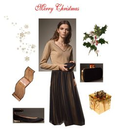 """""""Christmas Outfit"""" by stilouette on Polyvore featuring мода и WALL"""