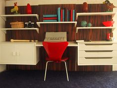 1970s Brio dolls house study shelves 1 | Flickr - Photo Sharing!