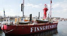 The lightship Finngrundet. Photo: Stefan Evensen, The National Maritime Museums in Sweden.