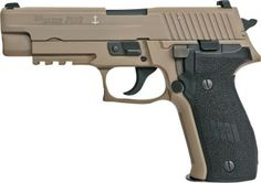 The SIG 226 Pistols' German-made precision make them the choice of Navy SEALs, Texas Rangers and other elite military and law-enforcement units around the world. Black, hard-anodized-aluminum frame. Bold front cocking serrations. Ergonomic grips.