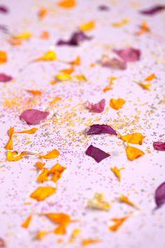 White Chocolate Floral Bark | Sprinkles for Breakfast