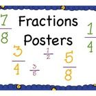 Fractions PostersGive your students visuals for what fractions are with this simple, yet highly effective posters....