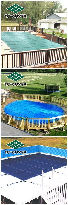 Landy professional chinese manufacturer of Pool Safety Cover comes in solid and mesh pool cover since Mesh Pool Covers, Pool Safety Covers, Above Ground Pool, In Ground Pools, Winter Pool Covers, Custom Pools, Outdoor Decor, Design, Piscine Hors Sol