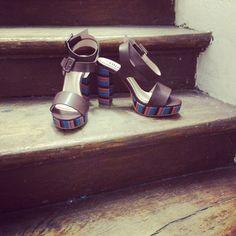 #shoes #mode #fashion #blog #fashionblog #bloggeuses #ete #summer #sun #couleur #retro #happy #sunny