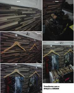Repaginando meu quarto...cabides para lenços e sapateira horizontal. Tudo em ordem ;)