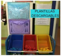 LA CLASE DE MIREN: mis experiencias en el aula: PLANTILLAS DESCARGABLES DE ACTIVIDADES PARA EL RINCÓN DE PLASTILINA Playdough Activities, Primary Activities, Educational Activities, Primary School, Pre School, Reggio Emilia Classroom, Class Decoration, Sensory Bins, Home Schooling