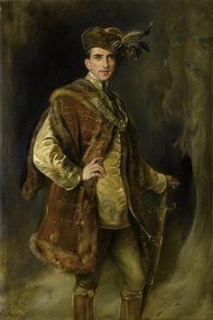 Porträt eines ungarischen Magnaten által Joszi Árpád Koppay