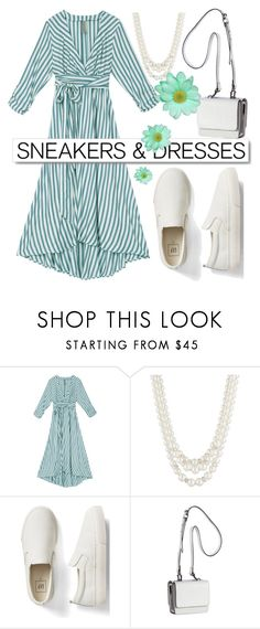 """""""Sneakers & Dresses"""" by cordelia-fortuna ❤ liked on Polyvore featuring White Label, Anne Klein, Gap and Kendall + Kylie"""