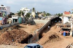 Road Over Bridge connecting Manali, Tiruvottiyur named Mattu Mandhai at the cost of Rs.47 crore will be completed this April. #TransportUpdates #Chennaiungalkaiyil.