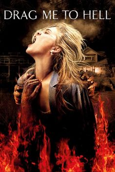 [~ Full Films ~] Drag Me to Hell 2009 Watch online Horror Movie Posters, Best Horror Movies, Film Posters, Movies 2014, Hd Movies, Movies To Watch, Movies Online, Movies Free, Movie Film