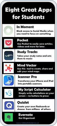 Eight apps for students | make your study life simpler & more fun!