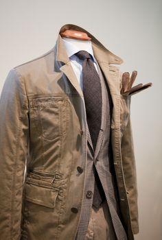 Safari Sunday by Rose & Born. Stylish Men, Men Casual, Classic Men, Country Wear, Safari Jacket, Chill Outfits, Sharp Dressed Man, Gentleman Style, Sport Coat