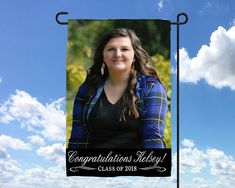 Graduation Party Decor, Custom Photo, Graduation Party Flag, Graduation Banner, Graduation Party, High School  College Graduation,
