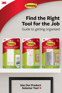 Command™ Brand has solutions for all your hanging needs. Best of all, when you are ready to take down or move your pictures, they come off cleanly no nail holes or sticky residue. Check out our product selector to find the right product for your next project. #DamageFree Job Guide, Pressure Canning Recipes, Dorm Necessities, Game Room Basement, Clean House Schedule, Get Gift Cards, Free Stuff By Mail, Creative Workshop, Hanging Pictures