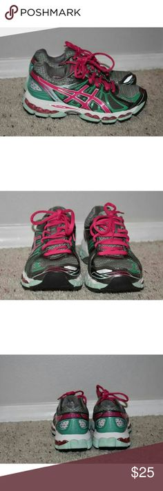 Asics Gel-Nimbus 15 Tennis Shoes Worn only a few times. Great condition. Very comfy. Size 6. Asics Shoes Athletic Shoes