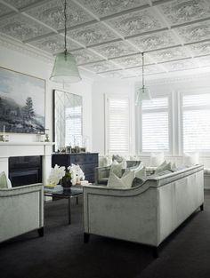 Industrial vintage white