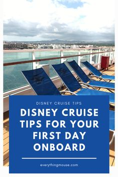 Disney Cruise Tips from the experts. What to do and what not to do on your first day onboard a Disney cruise ship. Embarkation tips for Disney Cruise Ships Cruise Tips, Cruise Travel, Cruise Vacation, Disney Vacations, Disney Cruise Alaska, Disney Cruise Ships, Cruise Destinations, Family Vacation Destinations, Family Vacations