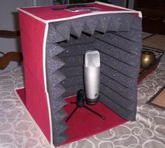 Going to do this!  My Portable Sound Booth | Bobbin Beam - Female Voice Over Talent and ISDN Voice Actress
