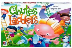 Chutes and Ladders Board Game, Indigo (cyber Monday), Toys, Board Games