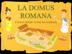 Las casas romanas : Pilaryyo   Guided tour of a Roman town!