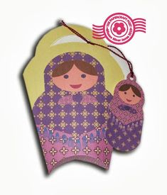 The Papercraft Post: Russian Doll Gift Bags