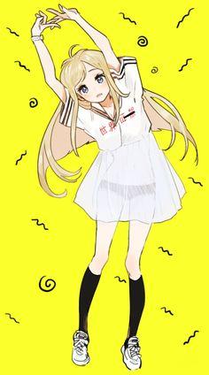 Imagen de anime and anime girl