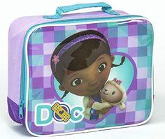 """Sambros Bel-bag-1004-01 """"doc Mcstuffin"""" Lunch Bag >>> Read more  at the image link."""