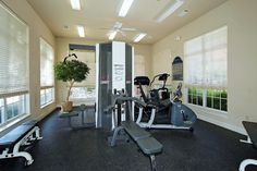 Fitness Center is open 24/7! Get your workout done!!