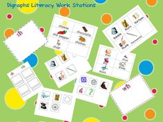 A Teacher's Touch: Digraphs Literacy Workstations