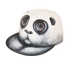 New Design Hand-painted Panda Baseball ღ Ƹ̵̡Ӝ̵̨̄Ʒ ღ Cap Cute Animal Snapback Hat White Cartoon ⊹ Cotton Caps  [HUL186]New Design Hand-painted Panda Baseball Cap Cute Animal Snapback Hat White Cartoon Cotton Caps  [HUL186] http://wappgame.com