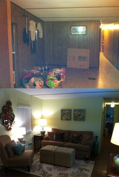 1000 images about mobile homes on pinterest mobile homes manufactured home decorating and for How to decorate a mobile home living room