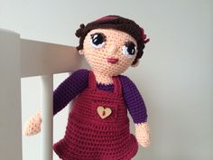 Crochet doll little milo