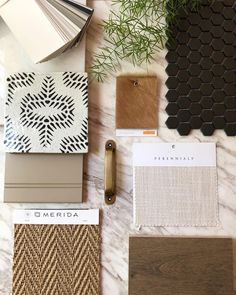 mood boards Ive got this neutral S Y M P H O N Y on repeat in my brain, and I dont mind one bit. Whats your favorite note in this C O M P O S I T Interior Design Boards, Interior Design Inspiration, Mood Board Interior, Material Board, Material Design, Casamance, On Repeat, Colour Board, Colour Schemes