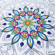 New printable mandala page - Joy Mandala
