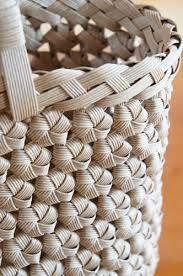 Výsledek obrázku pro エコクラフト、石畳編み,作り方