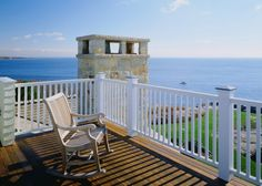 I suppose you need the sea for this to be perfect, but love the bench/rocker for patio or porch