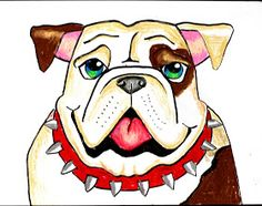 smART Class: Bull Dog Draw-a-Long  how to