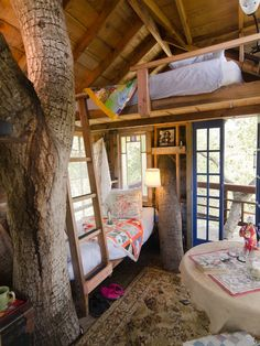 Tree House Design, Pictures, Remodel, Decor and Ideas - page 4 - Awesome tree house, love to sleep there in the summer