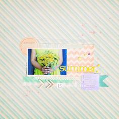 ILS - scrapbooking: Summer Dreamer >> take a look.  NO need for a face, capture the details of the moment!
