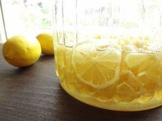 ★自家製レモネードが超簡単にできちゃう!国産レモンシロップの作り方★   パティシエール★あいぼんブログ in スウェーデン