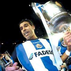 Nourredine Naybet (Deportivo de La Coruña) Good Soccer Players, Football Players, Coruna, Lions, Stars, Trading Cards, Legends, Sports, Soccer Players