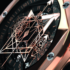 Hublot teamed up once again with the renowned Swiss tattoo artist and designer Maxime Plescia-Büchi to create a third iteration of their Hublot Watches, Big Watches, Best Watches For Men, Cool Watches, Titanium Blue, Famous Tattoo Artists, Titanium Watches, Luxury Watch Brands, Big Bang