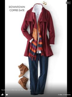 Talbots...Love this look, not the shoes.
