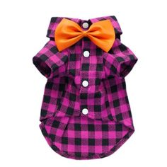 Charming Casual Dog Plaid Shirt Gentle Dog Western « Pet Lovers Ads