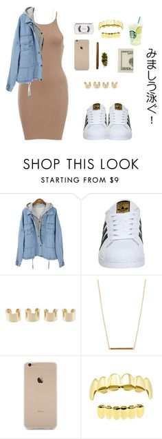 """""""Scarface - Jaden Smith"""" by versaceshawty ❤ liked on Polyvore featuring adidas, Maison Margiela, ASOS and MAC Cosmetics"""