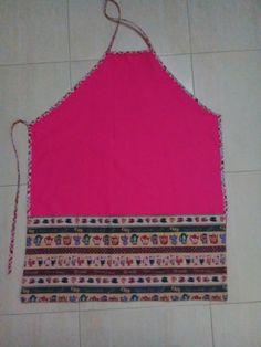 Conjunto de delantal, guante y trapo de cocina #horno #diy #guante #delantal #coser #sewing #laboresenlaluna