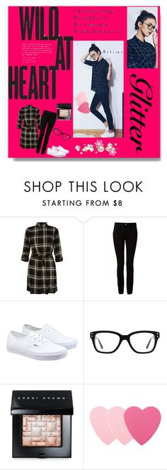 """""""wild at heart"""" by bamra ❤ liked on Polyvore featuring T By Alexander Wang, Vans, Converse, Bobbi Brown Cosmetics and Sephora Collection"""